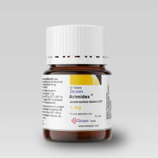 Anastrozole (Arimidex) 1mg - Decreases Fat Build-up